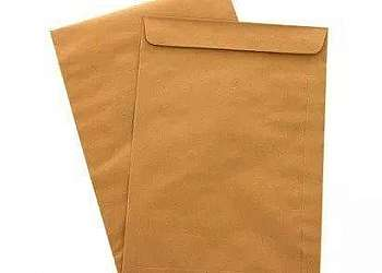 Envelope de papel kraft