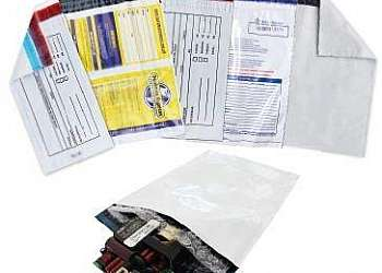 Envelope plástico a5