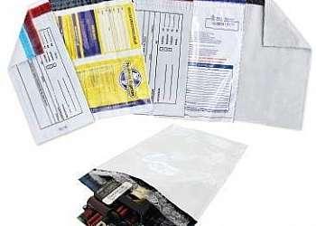 Envelope de plástico correios